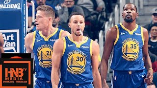 Golden State Warriors vs Detroit Pistons Full Game Highlights | 12.01.2018, NBA Season
