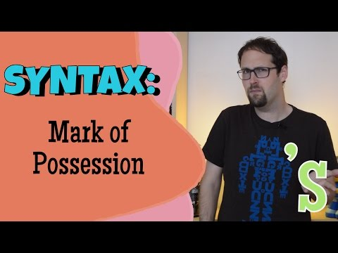 What Does Possession Tell Us About Syntax? Determiner Phrases