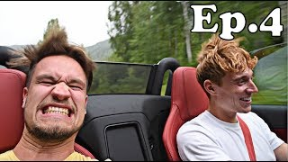 TWO IDIOTS in a Convertible..IN THE RAIN: Bucket List!!