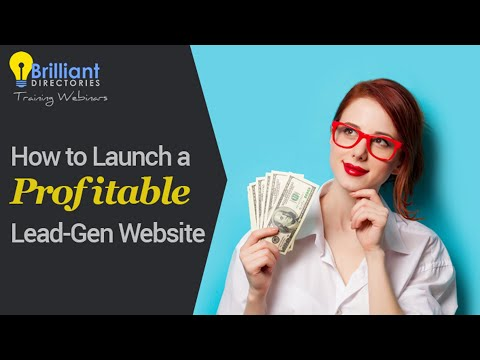 How to Launch a Profitable Lead-Generating Website