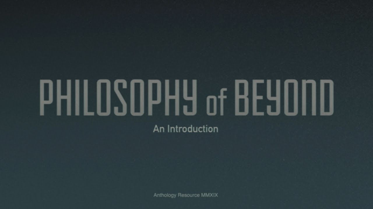 "Dean Hurley - ""Philosophy of Beyond: An Introduction"" (Documentary)"