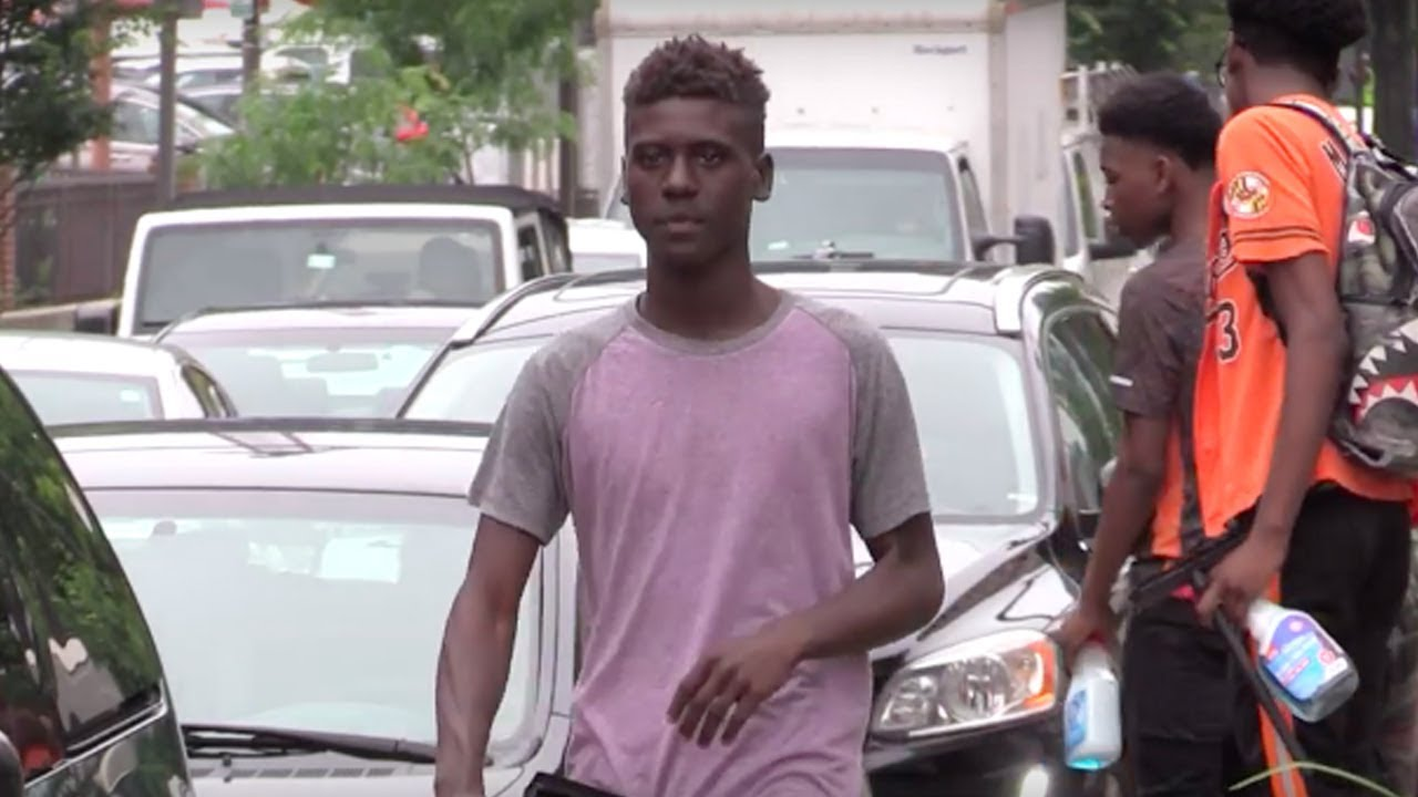 Baltimore, Maryland: Black Teens Work To Help Support Their Families