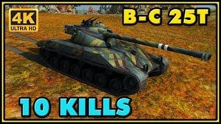 World of Tanks | BatChât 25t - 10 Kills - 8,2K Damage Gameplay