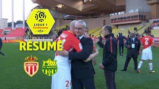 AS Monaco - FC Nantes ( 2-1 ) - Résumé - (ASM - FCN) / 2017-18