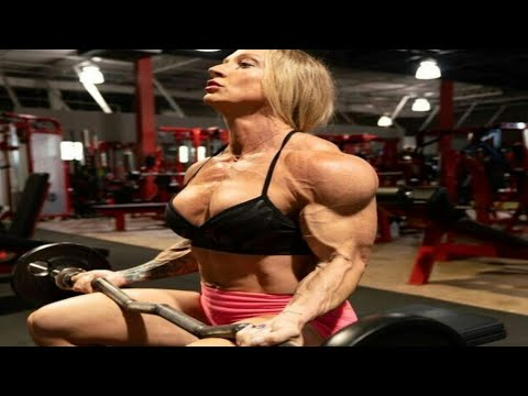 IFBB PRO MUSCLES | delaney hart Back Gym Workout Female Bodybuilding