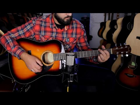 Fender CD60 V3 - Guitar Demo
