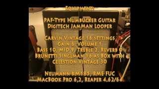Sound differences of preamp tubes 12AX7 / ECC83 comparison