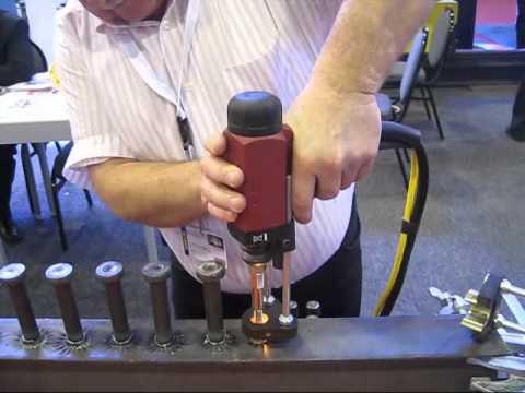 nelson threaded stud welding youtube rh youtube com Shear Stud Welding Nelson Stud Welding Company