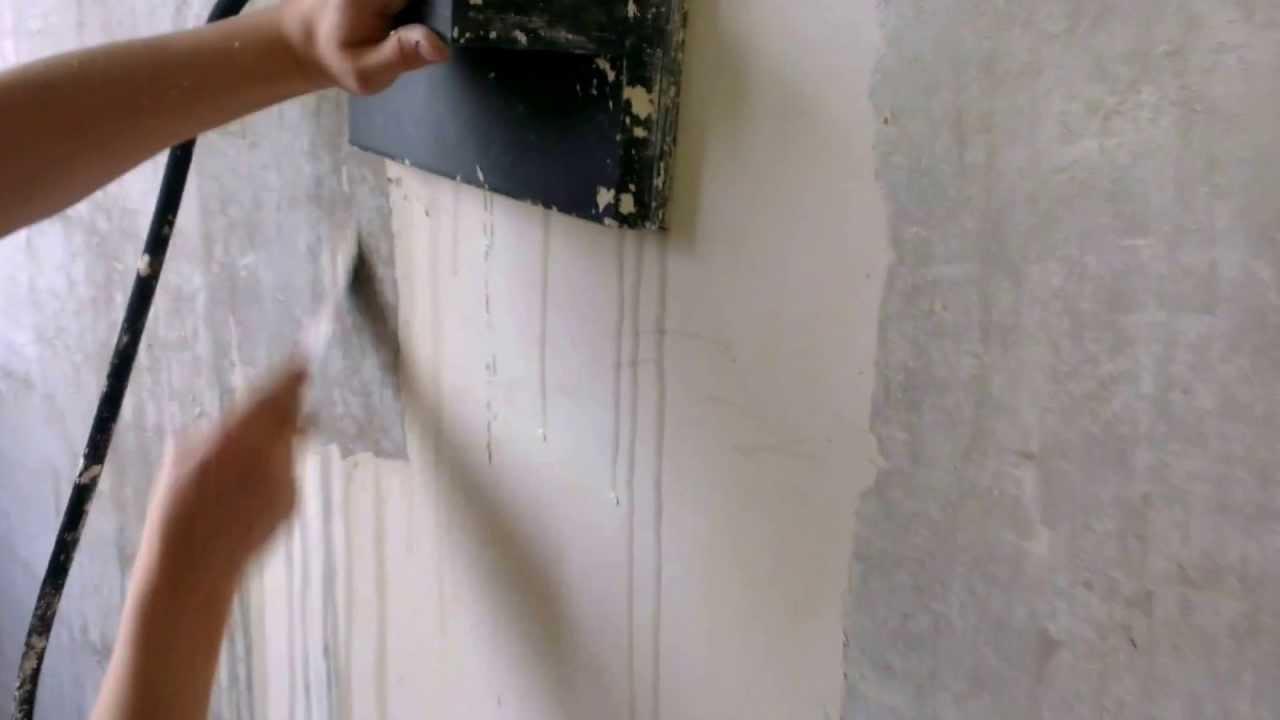 décapage mur par bogdan ** 31 mai 2013 - youtube - Comment Enlever De La Peinture Sur Un Mur En Platre