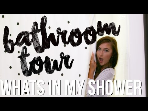 MY BATHROOM TOUR + What