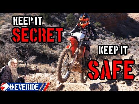 Is it Okay to Keep a Trail a Secret? #everide