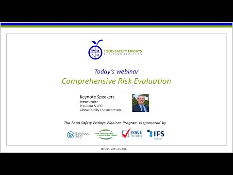 Comprehensive Risk Evaluation