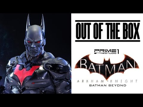 Out of the Box - Batman Beyond Statue - Prime 1