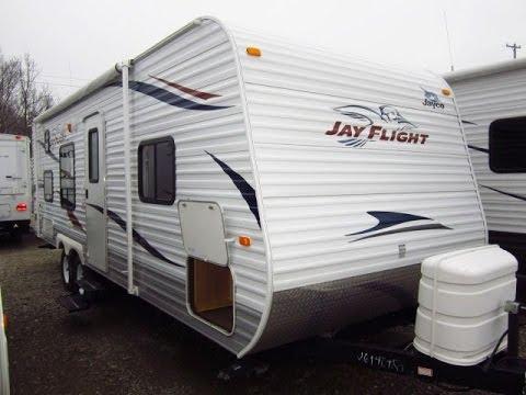 HaylettRV.com - 2011 Jay Flight 26BH Used Bunkhouse Travel ...