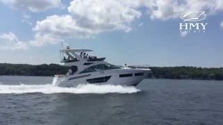 New 2017 Cruisers Yachts 60 Flybridge - A Quick Look