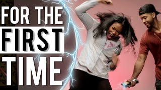 People Get Tased 'For the First Time'