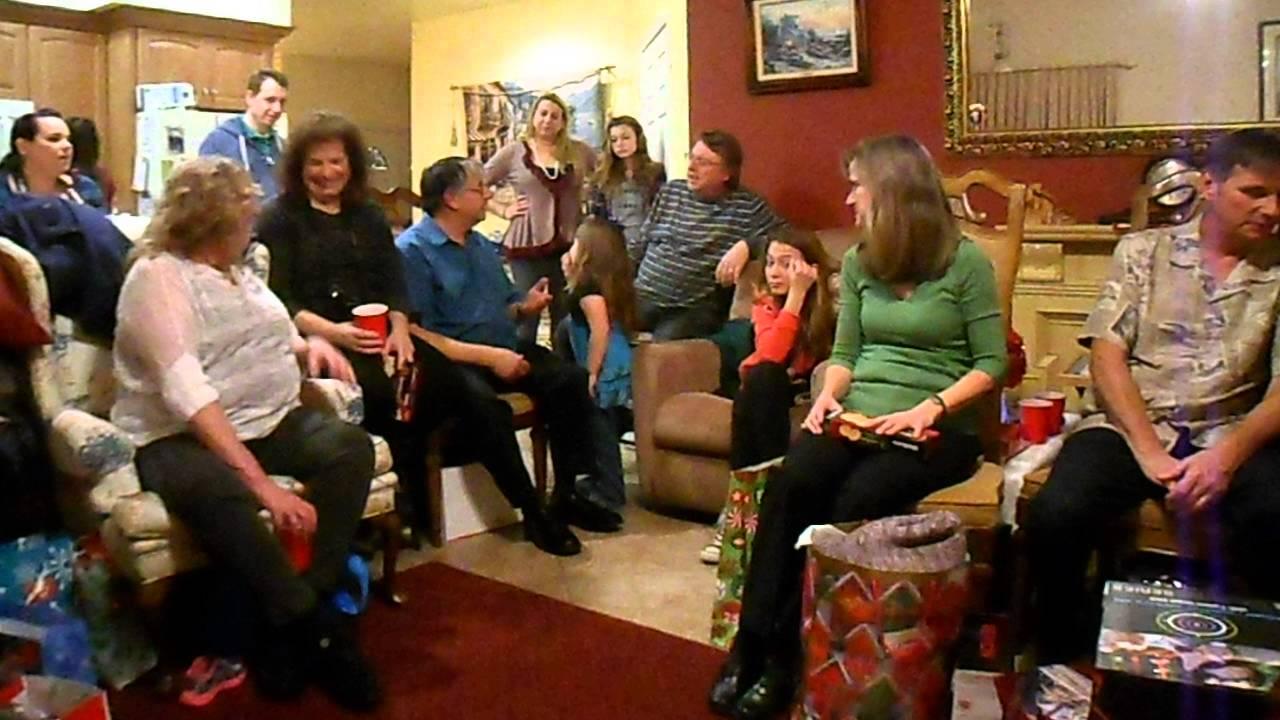 family christmas eve big italian family youtube