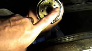 How to CHANGE YOUR OIL. DIY RAV4 How to Oil Change Tutorial 2008 08 Toyota RAV 4 in video