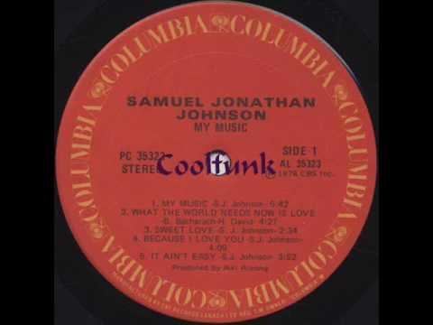 Samuel Jonathan Johnson -  Sweet Love (Soul-Funk-Groove 1978)