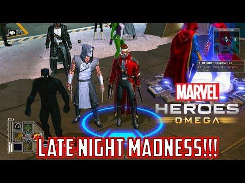 Marvel Heroes Omega Night Stream of Random Characters (Playstation 4 Pro)