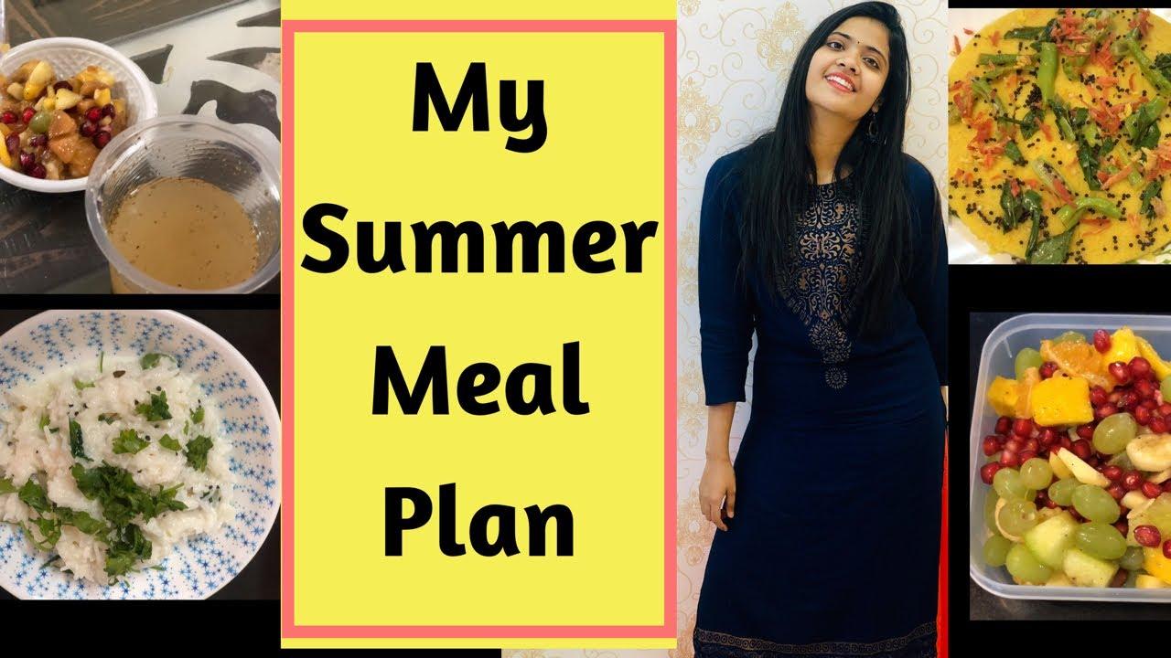 Summer Weight Loss Diet Plan | Full Day Meal Plan | Somya Luhadia