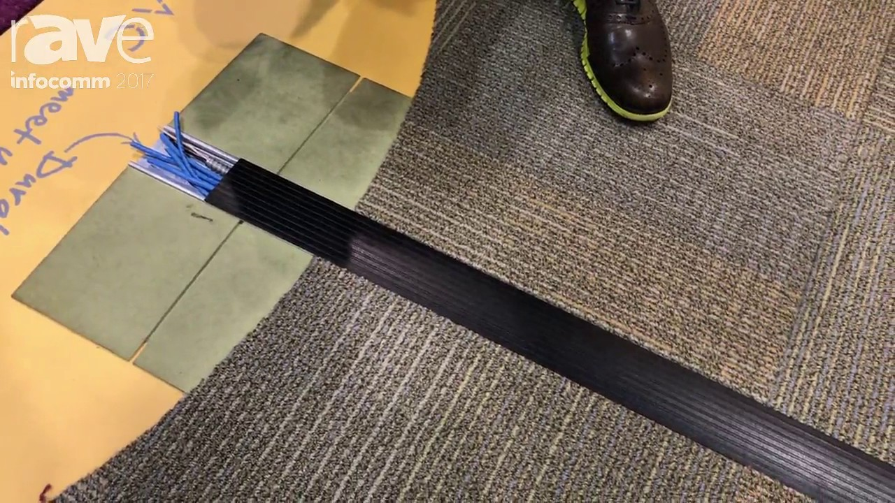 InfoComm 2017: Connectrac Shows the New 2.7 Under-Carpet ...