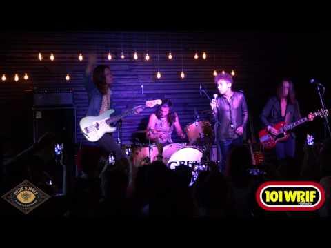 """Greta Van Fleet perform """"Highway Tune"""" with WRIF"""