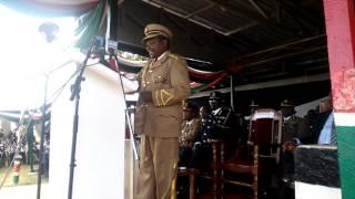 Nyeri county commissioner puts criminals on notice