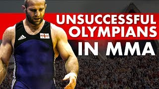 The Least Successful Olympians In MMA