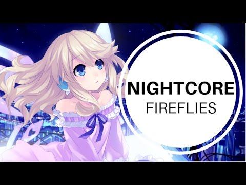 Nightcore - Fireflies (Cover)