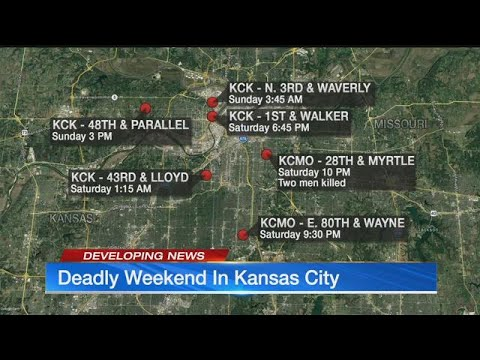 Violent weekend in Kansas City claims 7 lives in less than 48 hours