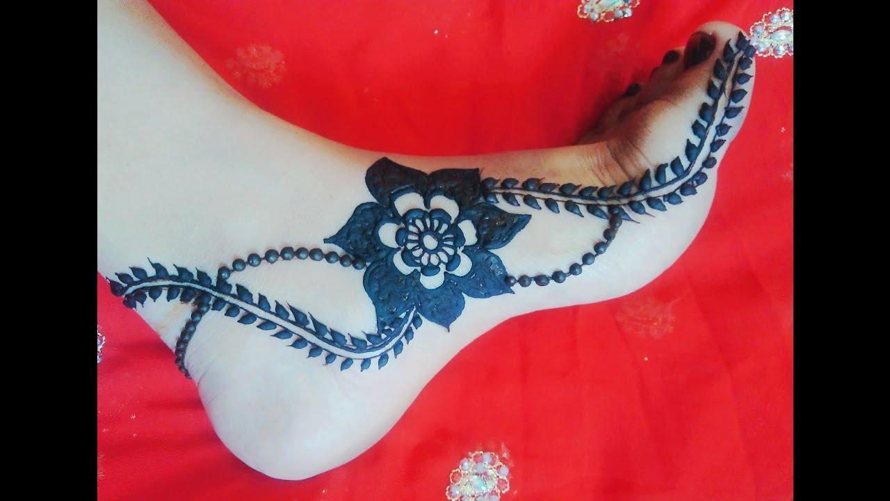 Mehndi design 2017 on foot - Feet Mehndi Design Leg Gulf Mehndi For Eid Diwali Karwachauth Naush Artistica