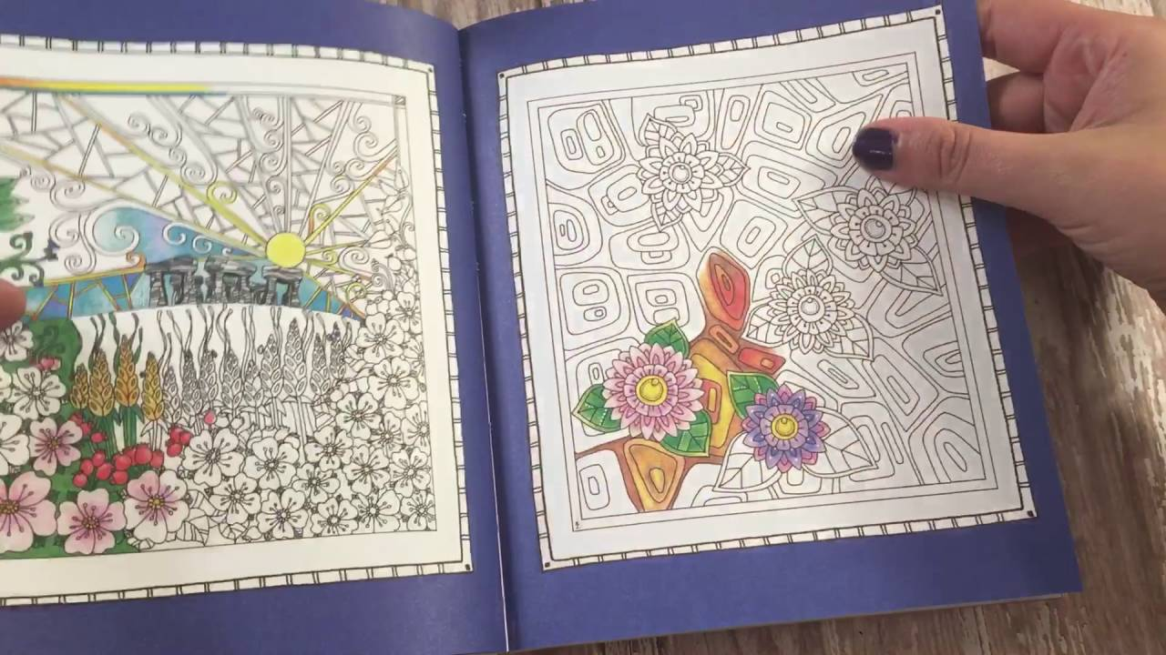 - Color Me Fearless Coloring Book Flip-Thru - YouTube