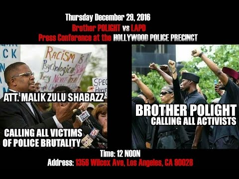 POLIGHT has a Legal Team vs LAPD and Press Conference in Front of POLICE Precinct this Thursday