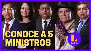 ¿Quién es quién dentro del nuevo gabinete ministerial?