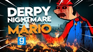 Derpy NIGHTMARE MARIO | Gmod Sandbox Fun
