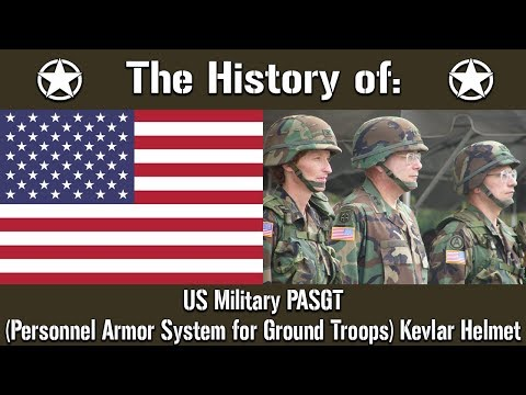 The History Of: The US Military PASGT Kevlar Helmet | Uniform History