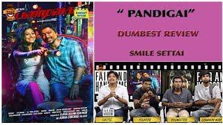 Pandigai Movie Review | Dumbest Review | Kreshna, Anandhi | Smile Settai
