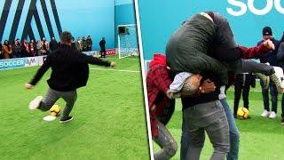Robbie Fowler scores a ROCKET penalty! 🚀 | Soccer AM Pro AM