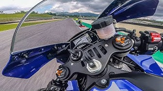 RIDING THE NEW YAMAHA R1 2020 AT MUGELLO - MOTORBIKE ADVENTURE