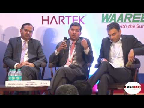 Panel Discussion at India Rooftop Solar Congress 2017