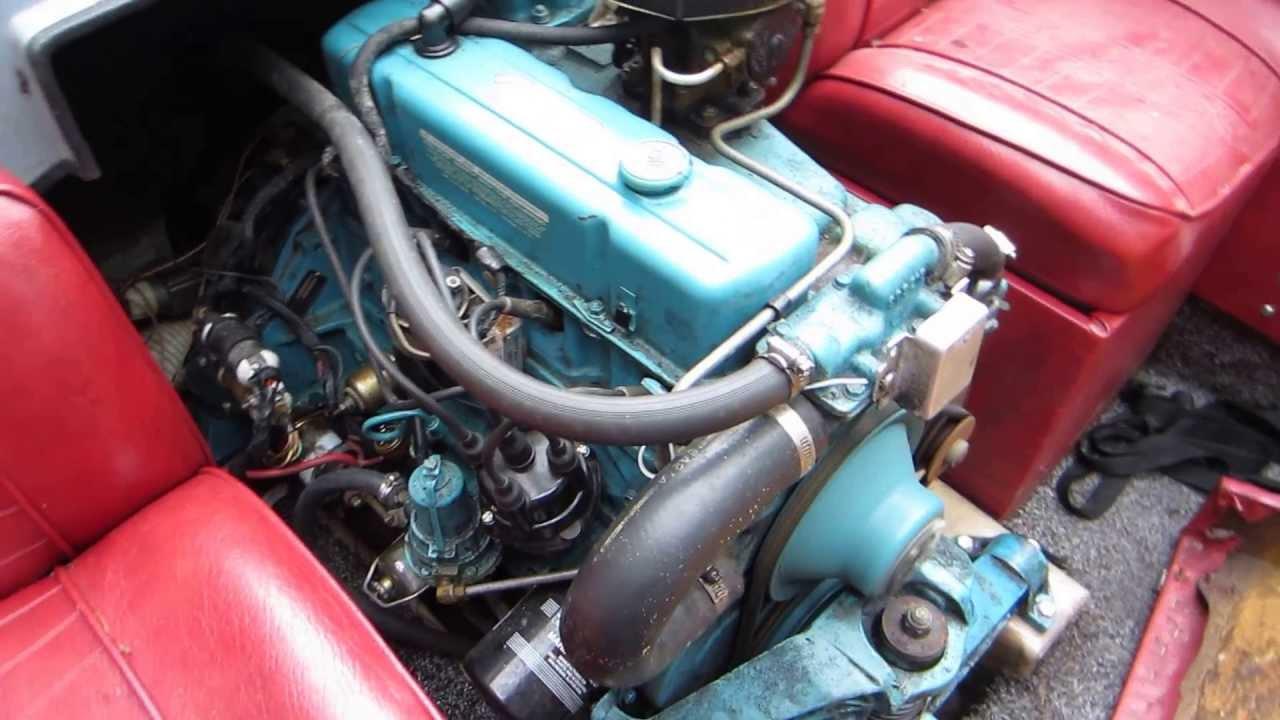 1976 25L OMC  GM 140 HP  YouTube