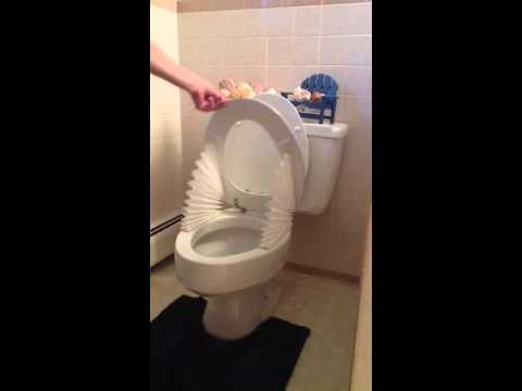 New Invention...Toilet Wings...For a Clean and Healthy ...