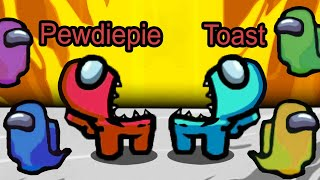 the unstoppable 2300 IQ impostor duo (ft. pewdiepie)...