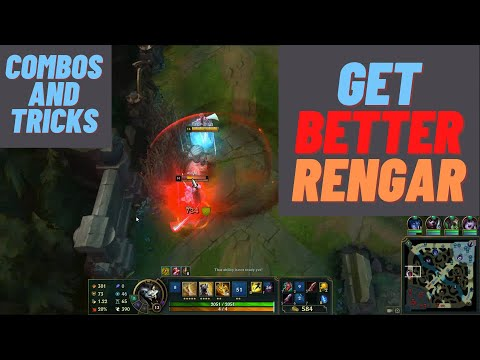 BASIC THINGS EVERY  TOP RENGAR SHOULD BE FAMILIAR WITH! | S11 Rengar tips and tricks