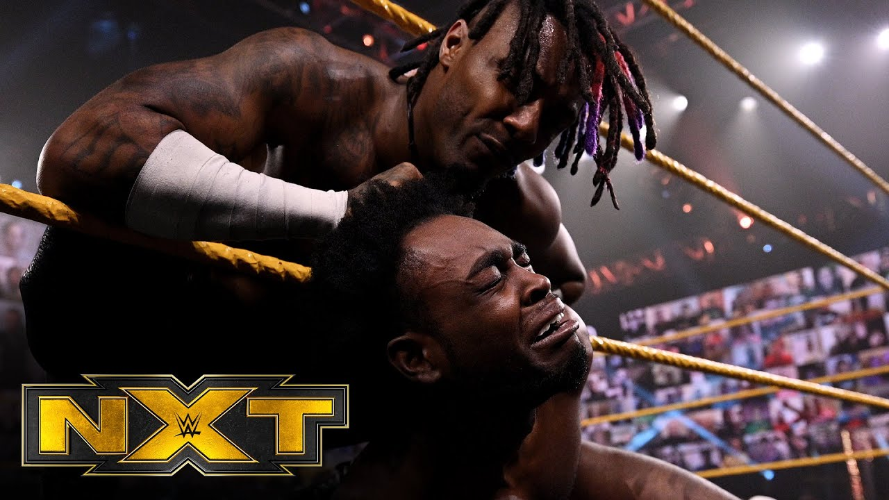 """Isaiah """"Swerve"""" Scott snaps after losing to Leon Ruff: WWE NXT, Feb. 17, 2021"""