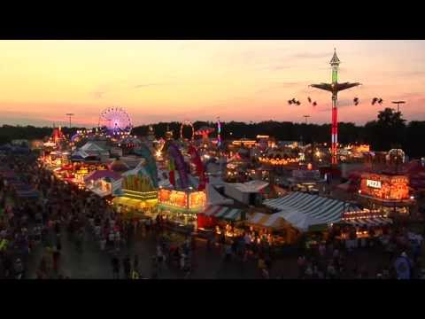 Erie County Fair, Hamburg, New York (Buffalo) 2014 - Wallenda Walk Day