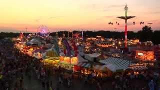 Erie County Fair, Hamburg, New York (Buffalo) 2014 - Wallenda Walk Day