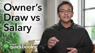 Owner's draw vs payroll salary: paying yourself as an owner with Hector Garcia   QuickBooks Payroll