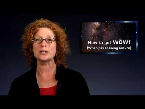 "Outreach 5: How to get ""WOW!"" (When not showing Saturn)"